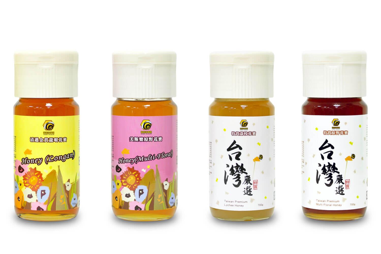 4種蜂蜜泡製蜂蜜檸檬