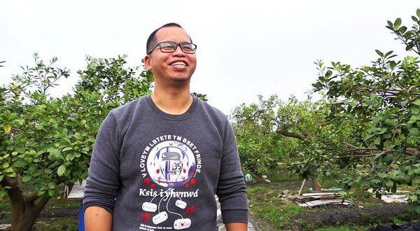 林內柚子園 謝大哥的故事