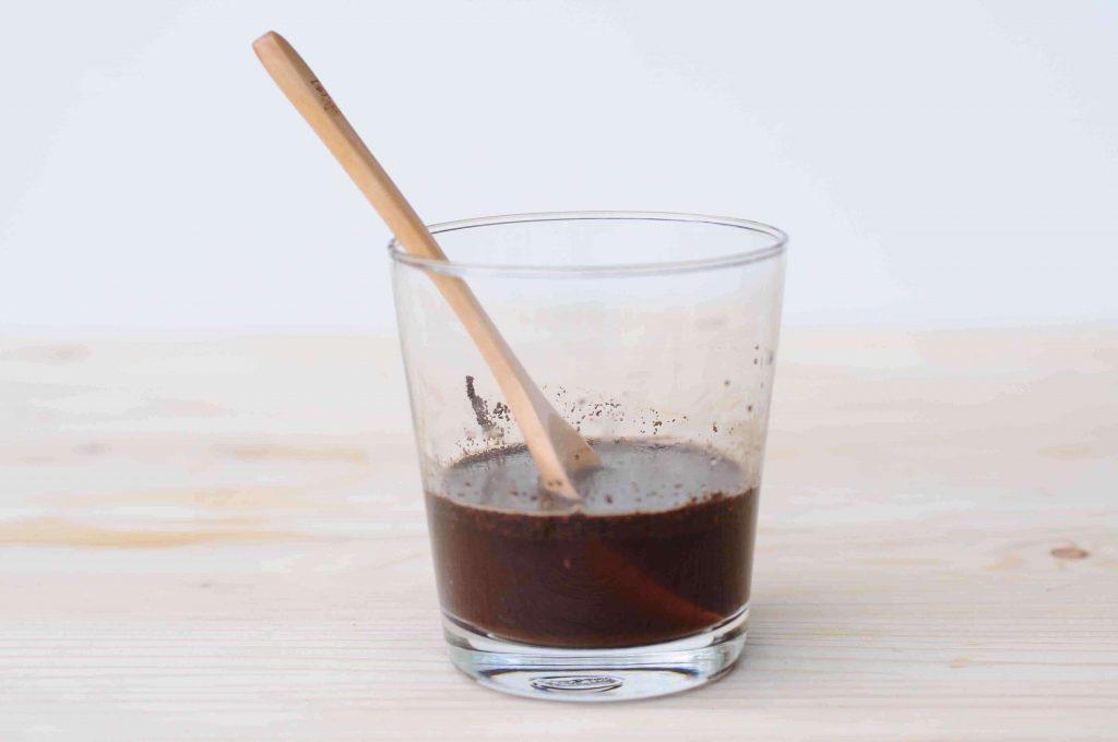 蜂蜜冰磚咖啡步驟1