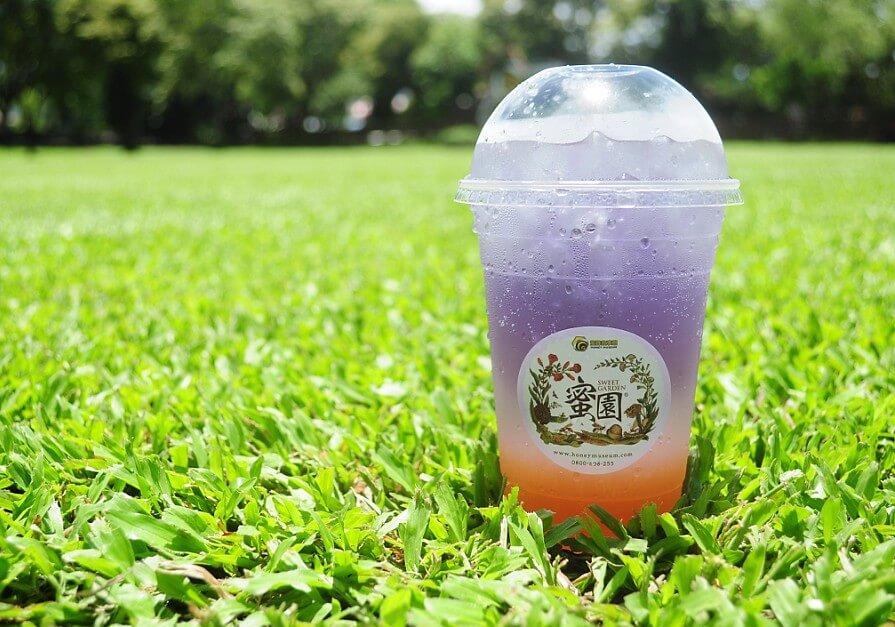 蜜蜂故事館紫蝶蜂蜜檸檬氣泡水