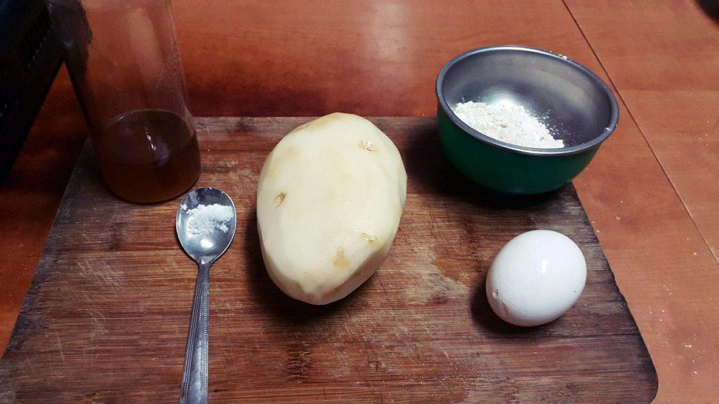 蜂蜜香煎馬鈴薯餅步驟1