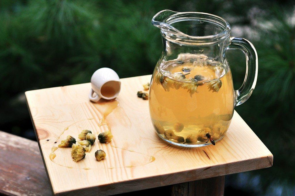 蜂蜜菊花茶2