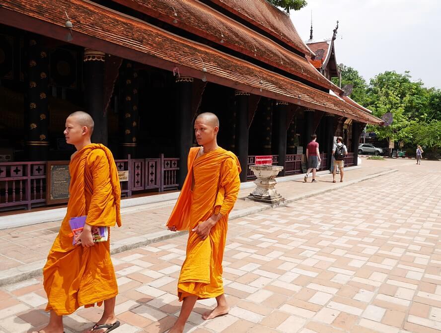 泰國又稱千佛之國